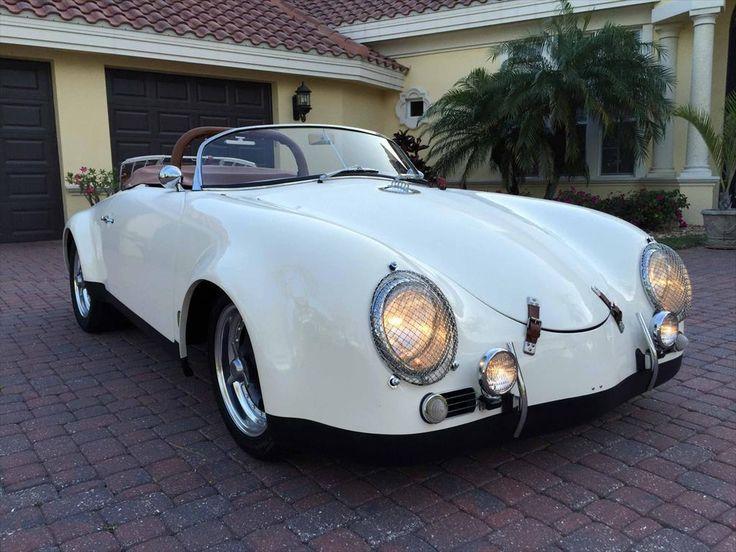 1988 Cmc 1957 Porsche 356 Speedster C Widebody Convertible