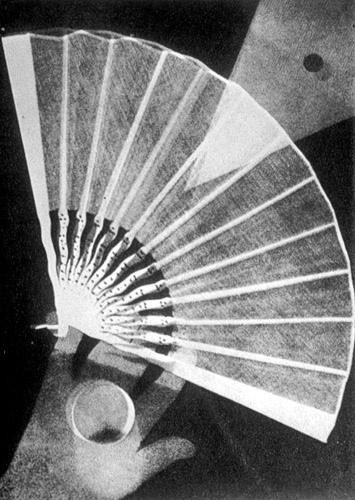 Man Ray ventaglio