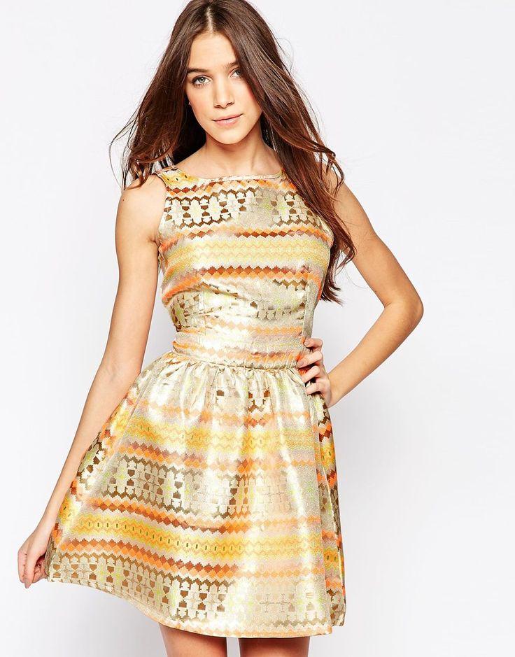 Bild 1 von Madam Rage – Kleid mit ausgestelltem Rock