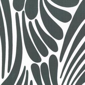 Florence Broadhurst Fingers Graphite #materialisedfabrics #fabricsfortherealworld #performancefabrics #restaurantdesign #florencebroadhurst