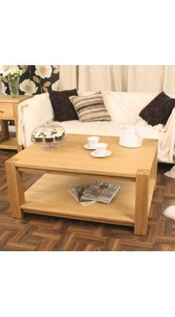 Baumhaus Aston Oak Coffee Table Large