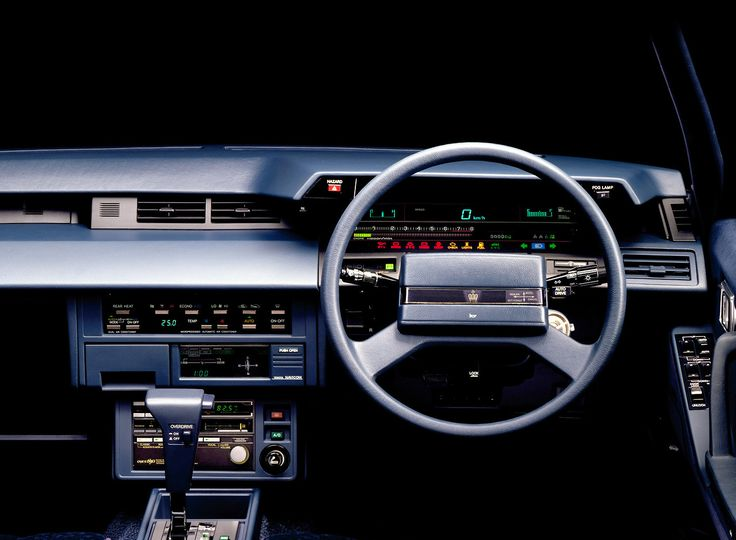 Car Interiors 1983 Toyota Crown Royal Saloon Toyota Crown Car Interior Toyota