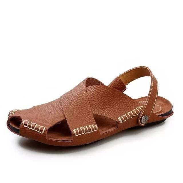 Be effective with this product Men sandals new s... and stop doubting yourself, see it on Costbuys http://www.costbuys.com/products/men-sandals-new-summer-pu-leather-soft-beach-shoes-men-comfortable-casual-men-shoes?utm_campaign=social_autopilot&utm_source=pin&utm_medium=pin