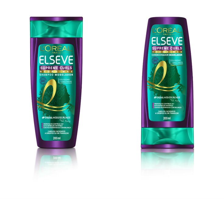 APENAS CONDICIONADOR LIBERADO❤ - A nova linha Supreme Curls Hydra-Max Elseve, que promete modelar os cachos e mantê-los com até 72 horas de efeito fitagem! Chega pra cá que eu te conto tudo!
