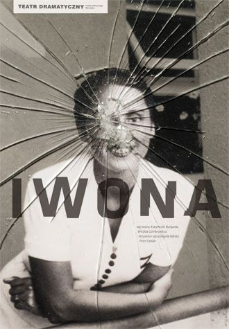 Ivonna by Witold Gombrowicz Theater poster