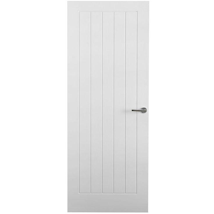 Internal Moulded Woodgrain Vertical 5 Panel FD30 Fire Door