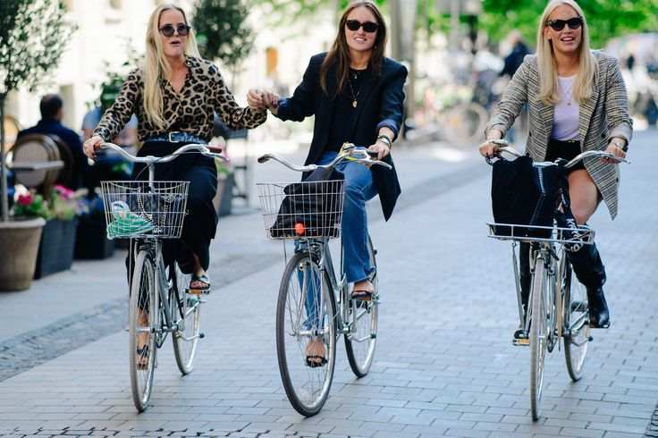 Stockholm Fashion Week Street Style Stars Are Still Dressing in Bright Summer Colors, Bless Them Photos | W Magazine