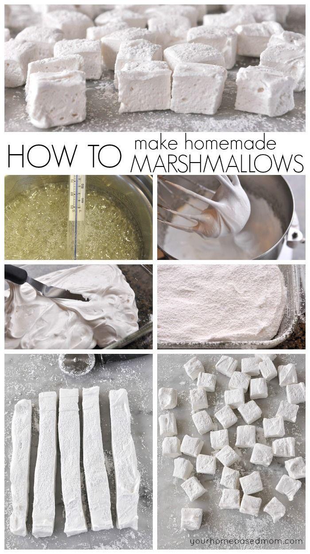 How to make homemade marshmallows! Easy Treat Recipe!