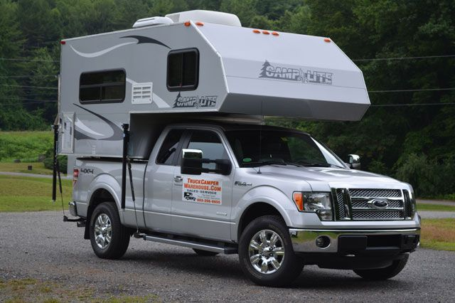 A review of the CampLite 6.8 truck camper, a hard side, non-slide, wet bath truck camper for short bed trucks.