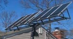 A Simple DIY Solar Tracker