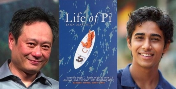 Life of PI: the movie! Finally the bestseller is adapted for film. Ang Lee back in an interesting film! He is great in adapting novels! And it will be shot in 3D! With Tobey Maguire and Gerard Depardieu among the cast!