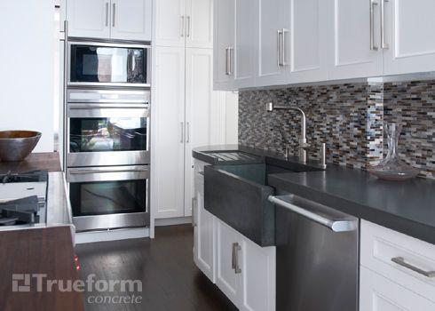 25 best custom concrete kitchen countertops | trueform concrete