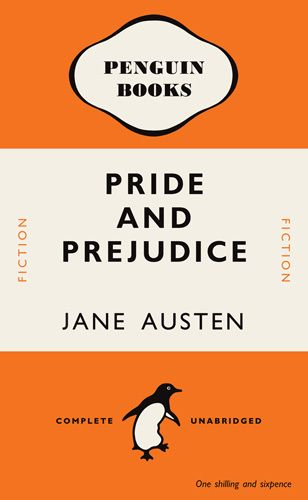 Pride and Prejudice Art Print by Penguin Books at King & McGaw