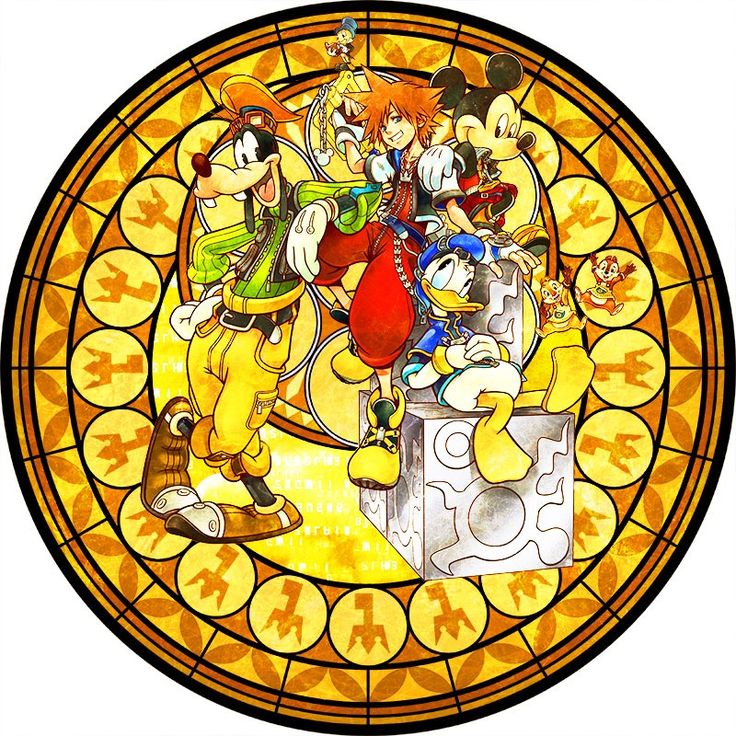 キングダムハーツのステンドグラスを再現した巨大時計が1月9日から新宿駅のメトロプロムナードで展示。1点ものの時計にしてプレゼントする企画も - 4Gamer.net