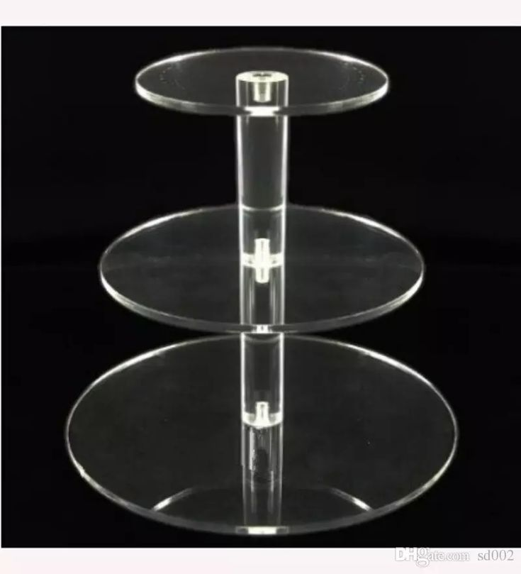 acrylic cake stand 3 tier