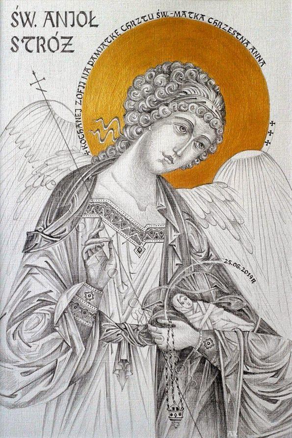 św. Anioł Stróż, Ojciec Pio i Anioł Stróż, modlitwa żony do Anioła Stróża mojego męża.