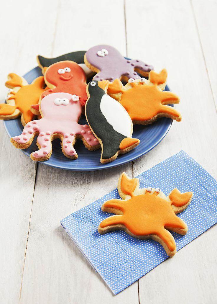 Biscotti  animali del mare #biscotti  #cookies #childcookies  #idolcettidipaola #leitv
