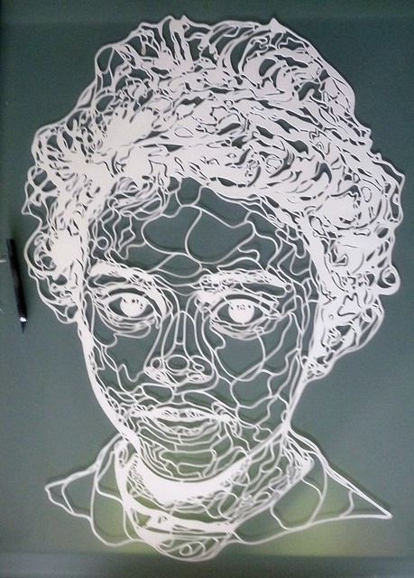 new papercut by Kris Trappeniers, via Flickr