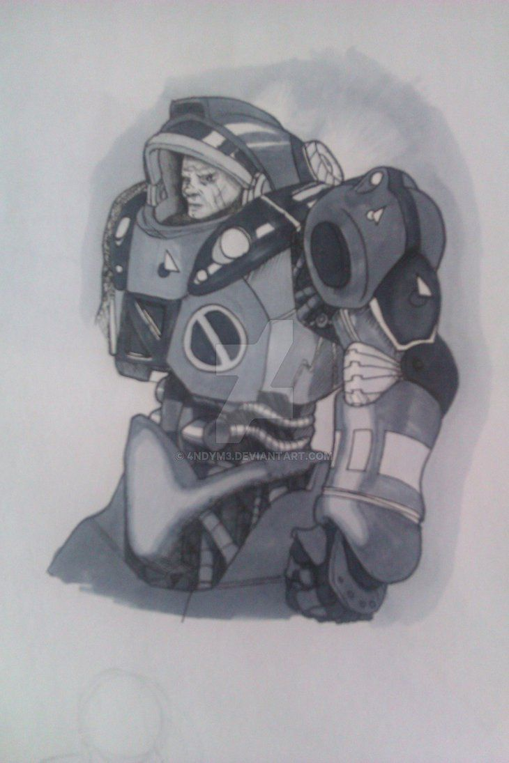Space Soldier by 4ndyM3