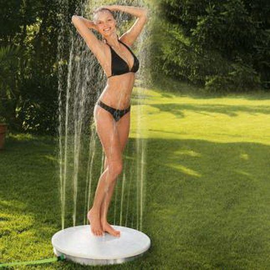 Как сделать летний душ на даче- фото-примеры
