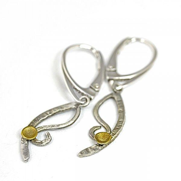 Kolczyki srebrne | Galeria Pomysłu | Oryginalna Biżuteria Srebrna
