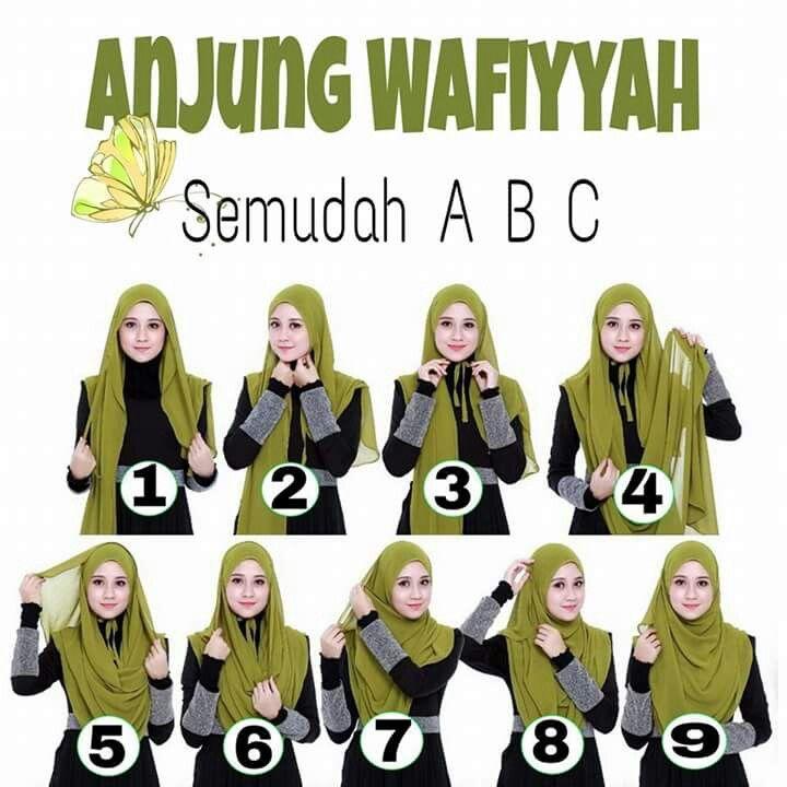 Hijab tutorial 8
