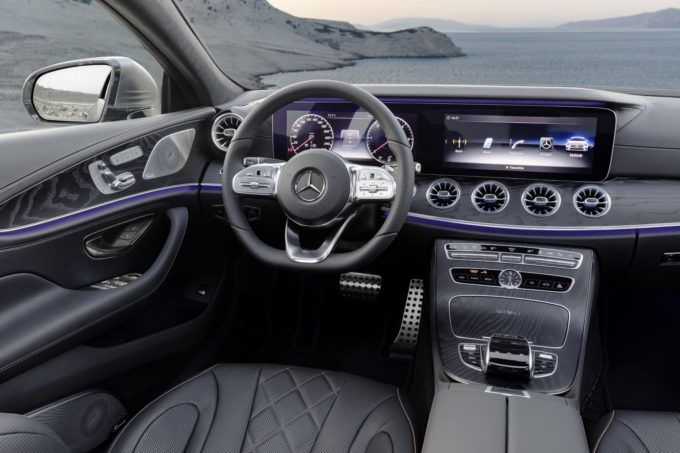New 2019 Mercedes Benz Cls Is Hybrid And Mean Mercedes Cls
