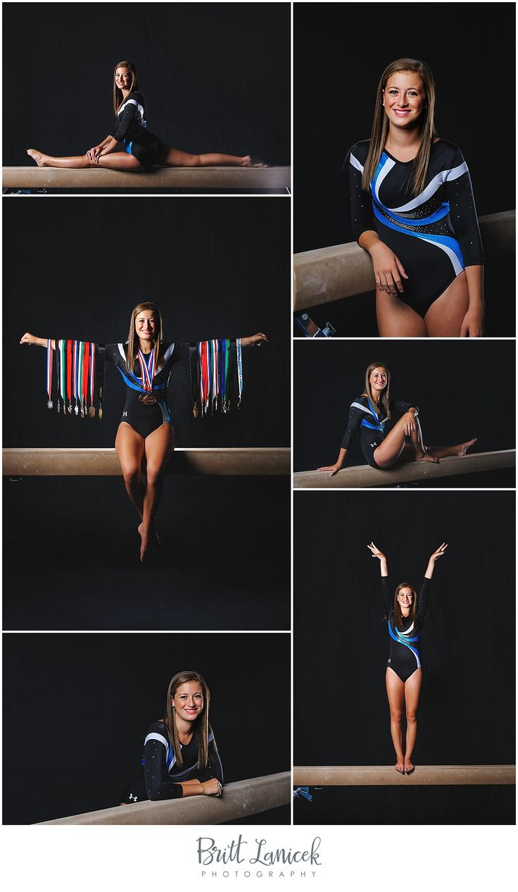 Gymnastics senior pictures | Gymnastics senior portrait ideas | Toledo Ohio Senior Photographer Britt Lanicek | http://www.brittlanicekphotography.com
