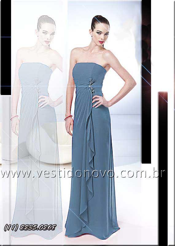 4222f9db5ea84 Vestidos longos de festa da LOJA VESTIDO NOVO