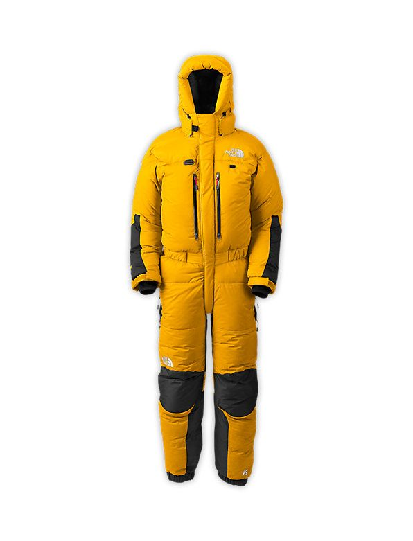 While Hillary was battling Everest's cruel elements with a minimal cotton and nylon suit, modern suits such as this provide climbers with not only greater warmth, but also better mobility and durability.