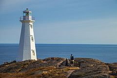Hiking near Cape Spear Lighthouse National Historic Site