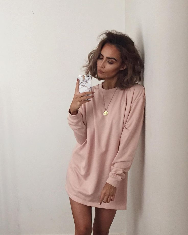 Missguided Oversized Jumper Dress - https://www.missguided.co.uk/dresses/day-dresses/oversized-loopback-sweater-dress-nude