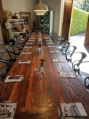 Gorgeous Long Tall Farm Table Lo Hago Pinterest - Tall farm table