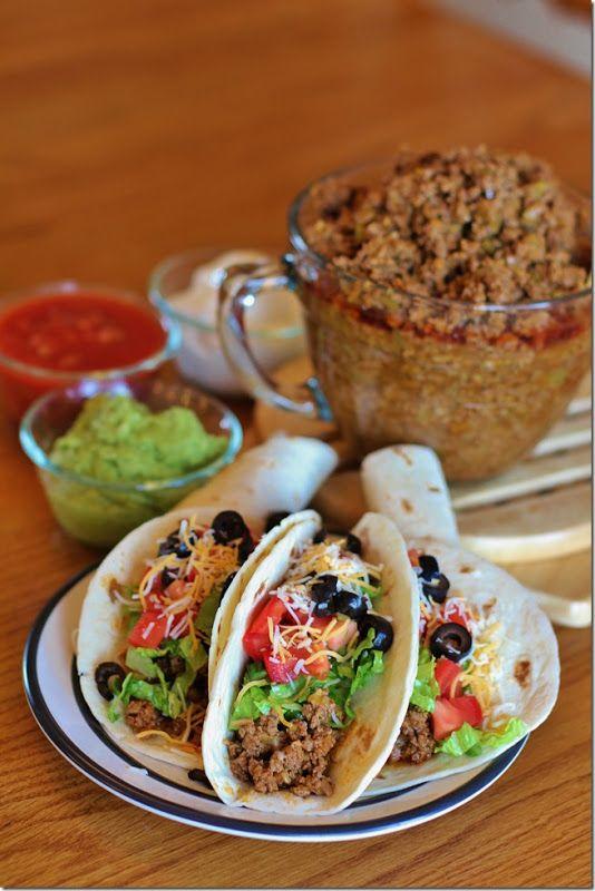 """Secret Recipe"" taco filling. You may never go back"