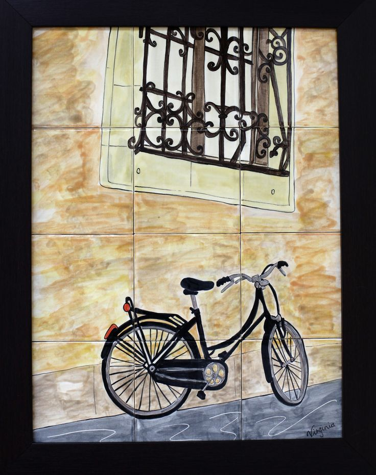 13 best Bicycle Artwork images on Pinterest | Art work, Artwork and ...