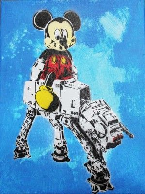 Mickey Strikes Back by Eric Davidson Gluyas [Australia]