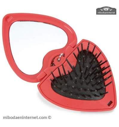 Cepillo Corazón Espejo