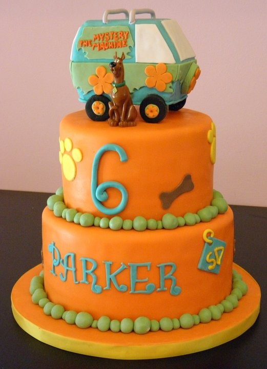 Scooby Doo cake for Hudson