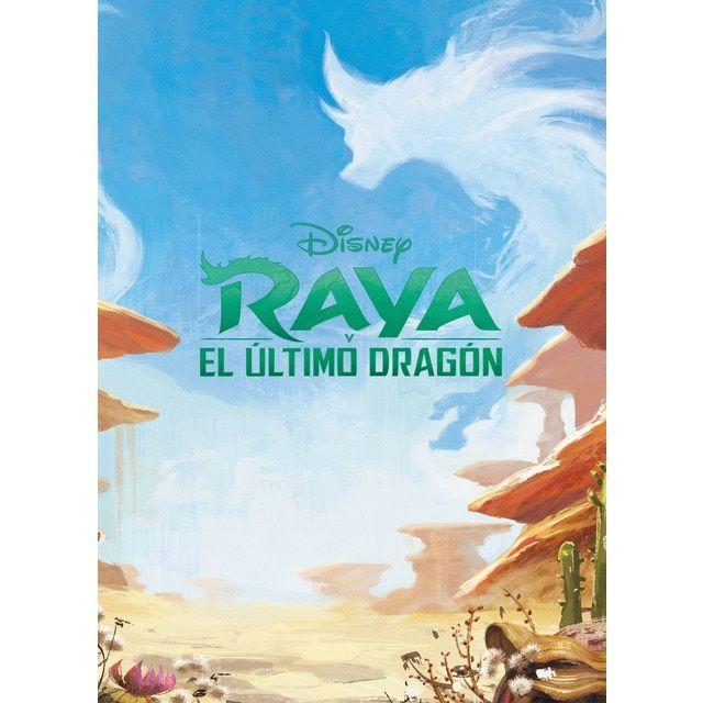 Raya y el último dragón. Megacolor: Pinta y diviértete