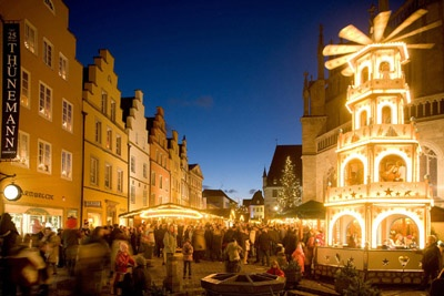 Gruppenreisen-clicks.de - Gesellig reisen in Gruppen und Vereinen. Historischer Weihnachtsmarkt in Osnabrück