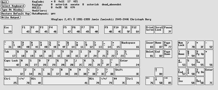 xkeycaps (keyboard)