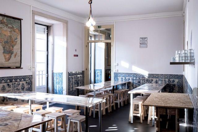 Hostel Dining Room @ Lisbon