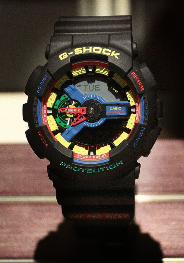 Casio G-Shock Protection Watch I have to say, I really love all of these G Shocks, they're so cool.