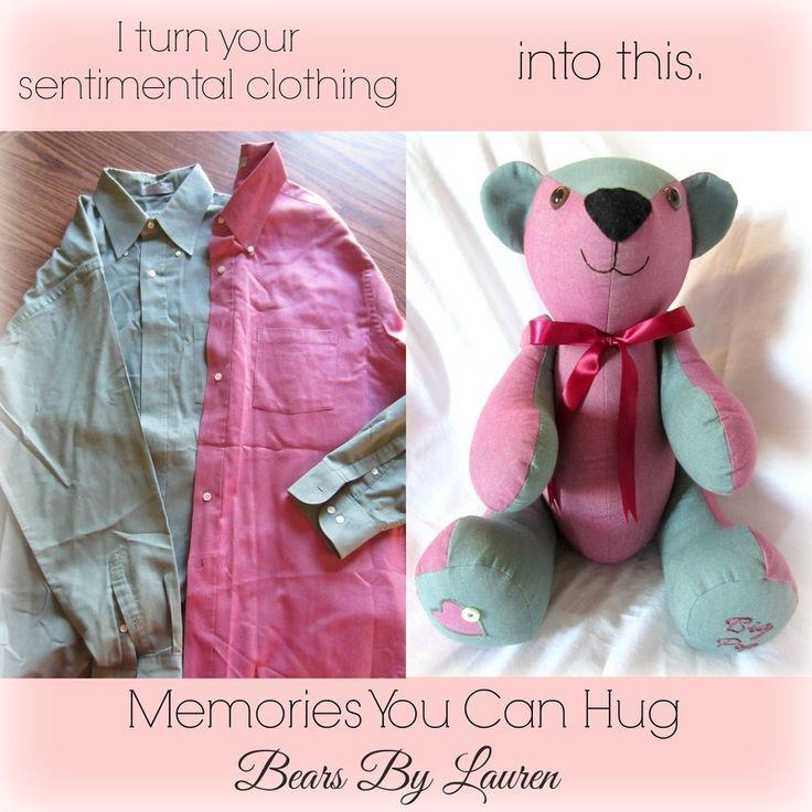 how to make a keepsake bear