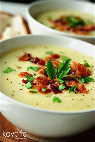 Hartige aardappelsoep «Kayotic Kitchen