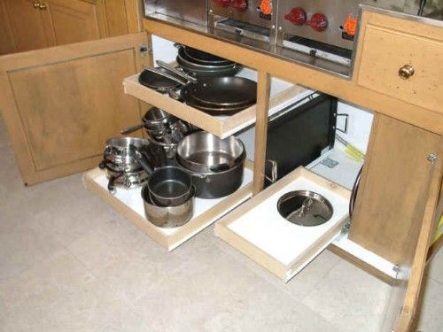 Kitchen Pull Out Shelves Modify Current To Utilize Our Cabinets More Efficiently