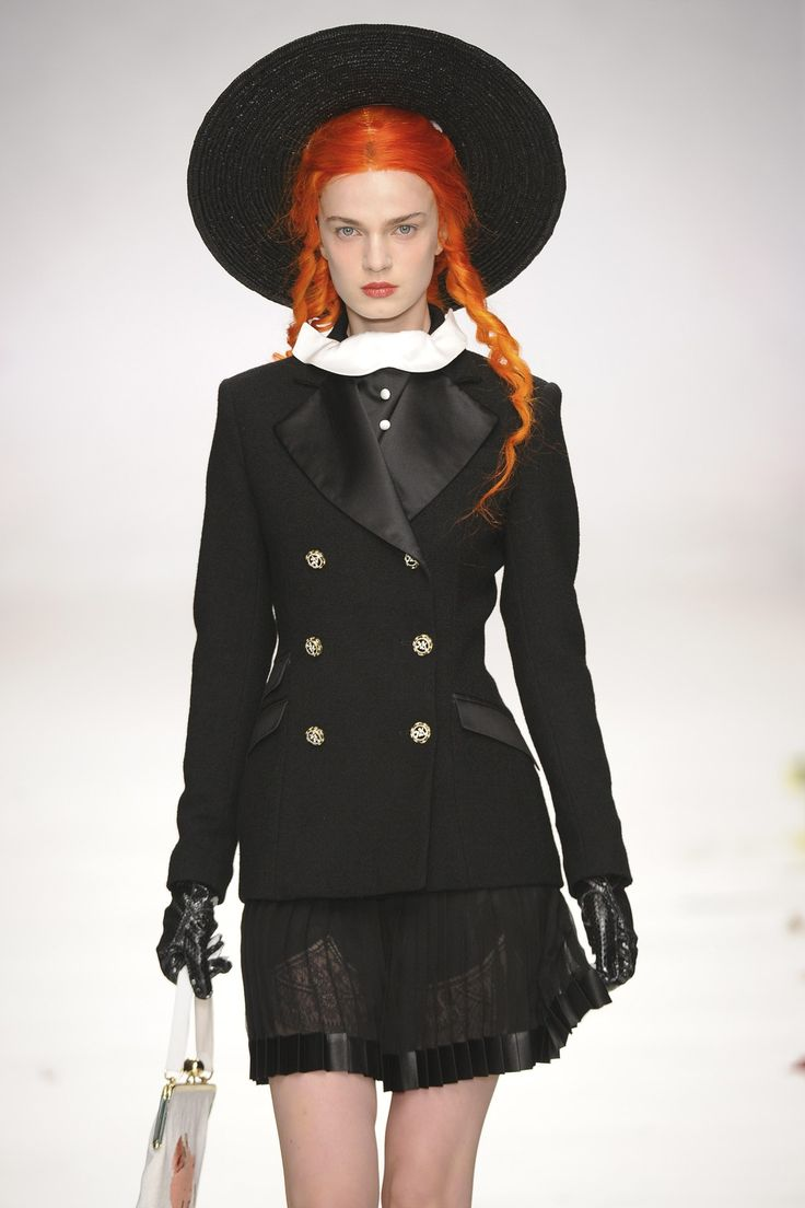 Meadham Kirchhoff Spring/Summer 2014 Ready-To-Wear
