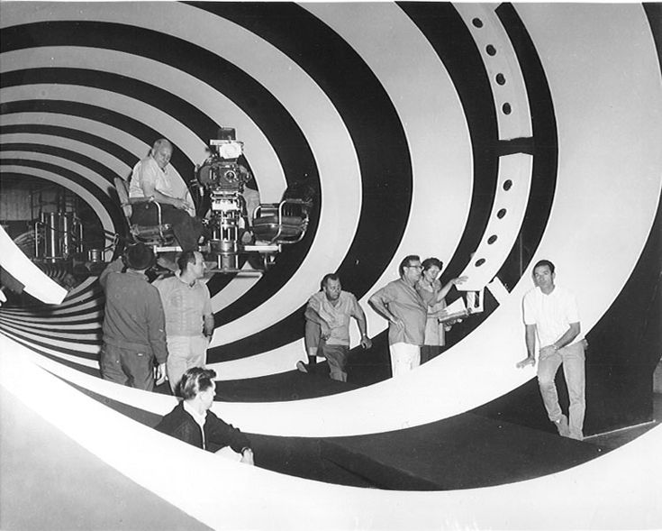 """""""The Time Tunnel"""" by Irwin Allen, 1966-67 Always wondered how they shot this..."""