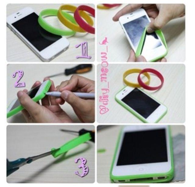 iPhone hoesje maken