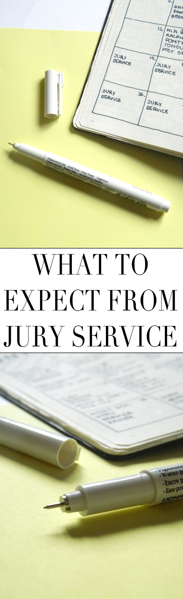 What To Expect From Jury Service // Twenty Something Meltdown